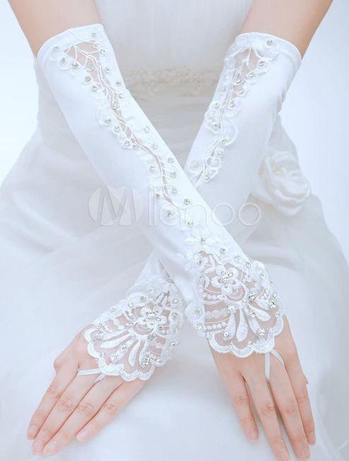 Guantes para novias. (atención novias elegantes y vintages). 27