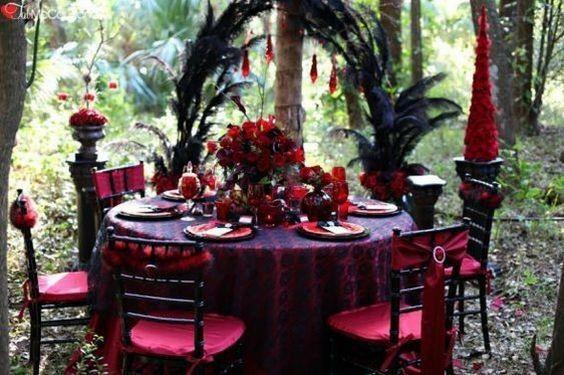 Ideas: boda temática terror 7