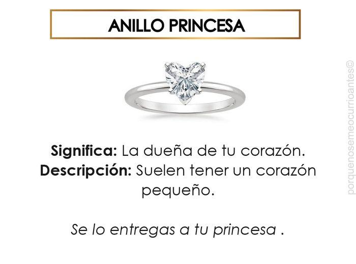 El significado de cada tipo de anillos. 2