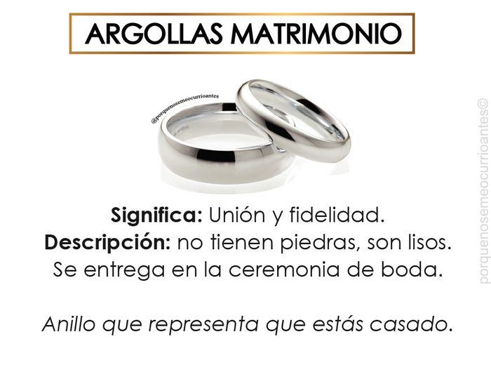El significado de cada tipo de anillos. 3