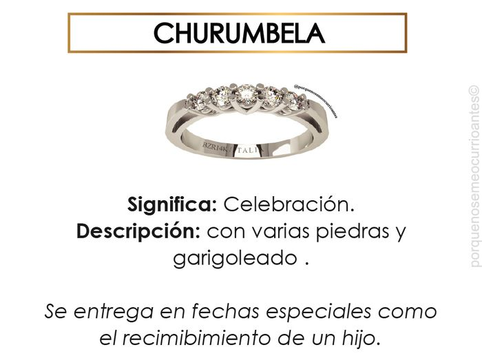 El significado de cada tipo de anillos. 8