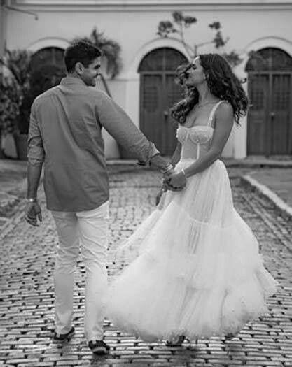 Se casó la actriz de Hollywood Adria Arjona (hija de tigre) con Edgardo Canales 1