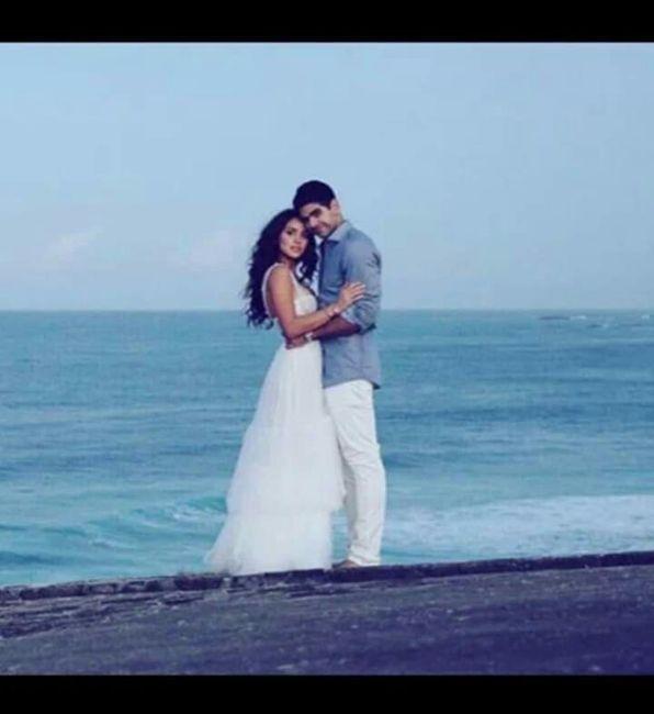Se casó la actriz de Hollywood Adria Arjona (hija de tigre) con Edgardo Canales 11