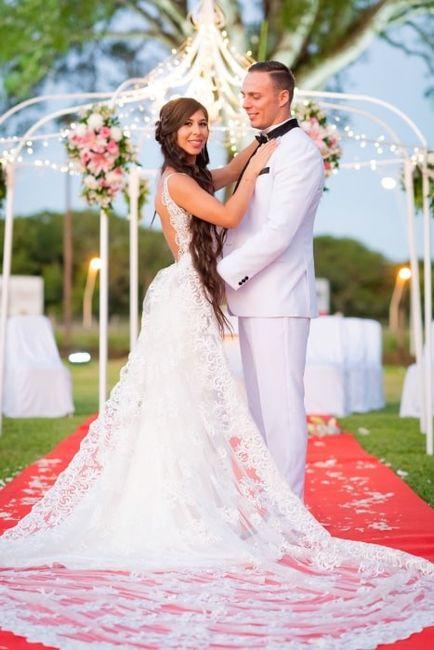 Casamientos reales en rosa para el mes rosa. 1