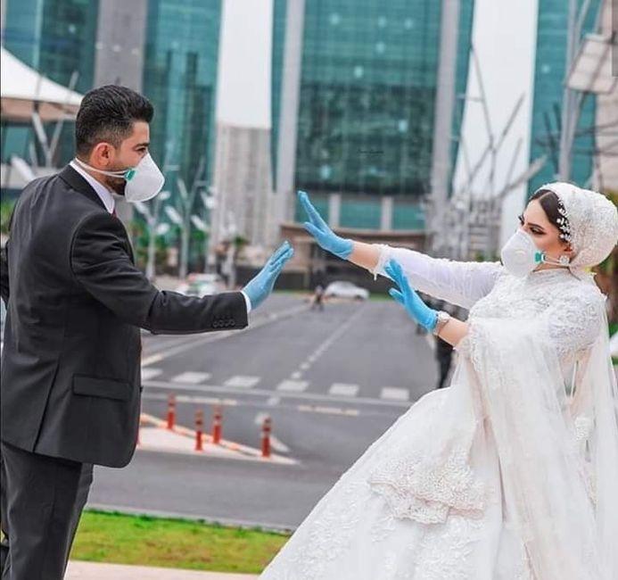 Recomendaciones a los que se casan en tiempos de pandemia.. - 2