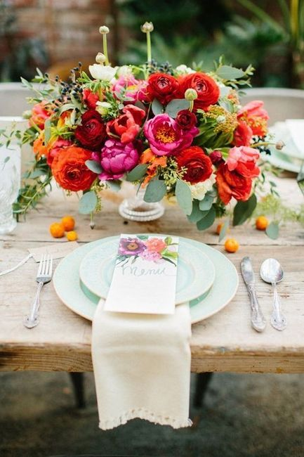 The Color Holi 🌈: ¡Elegí tu centro de mesa favorito! 4