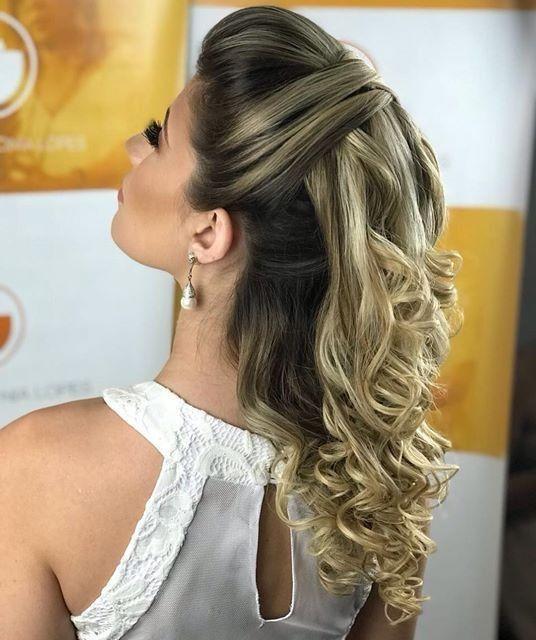 7 Ideas De Peinados Semirecogidos Con Cual Te Quedas - Semi-recojidos