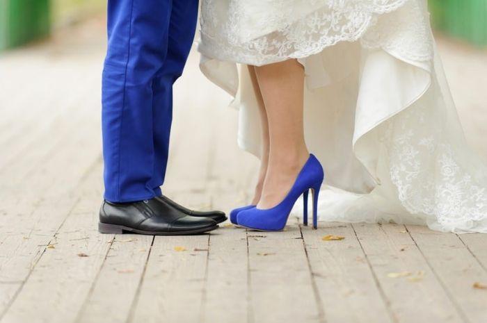 Sapatos de noiva: ESCOLHE 1 de 2 2
