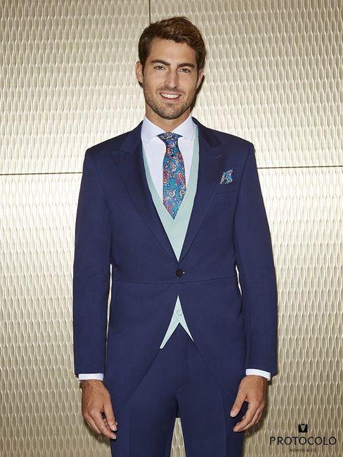 b5f161aa1 Tu novio irá de traje o elegante sport?