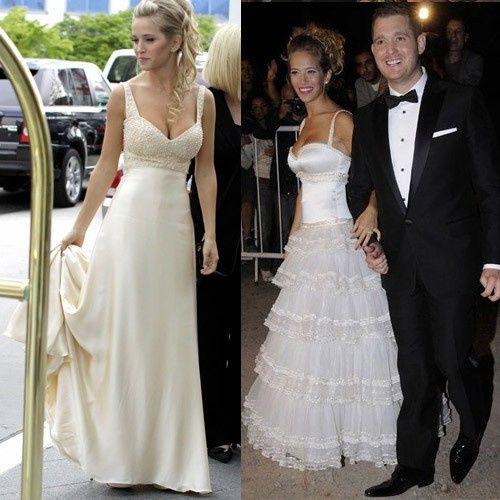 8 vestidos de novias famosas ¡votÁ tu favorita! ⭐
