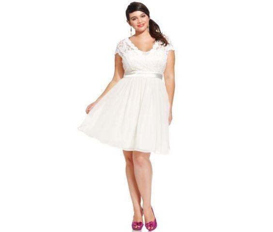f39645a54 ¡6 vestidos de Civil para novias con curvas!
