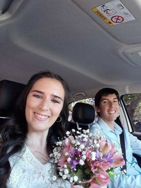 Ya nos casamos pasaron 24 días!! 6