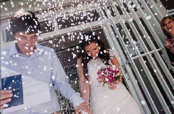 Ya nos casamos pasaron 24 días!! 7