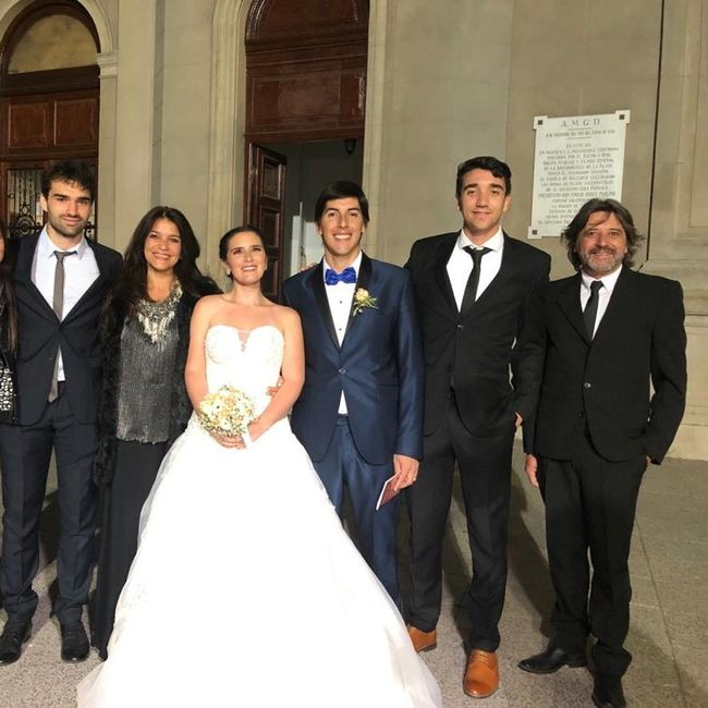 Ya nos casamos pasaron 24 días!! 9