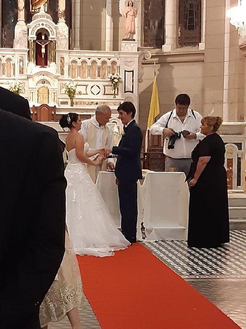 Ya nos casamos pasaron 24 días!! 10