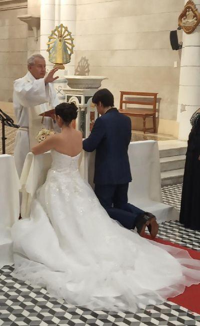 Ya nos casamos pasaron 24 días!! 12
