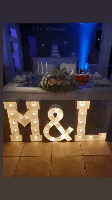 Ya nos casamos pasaron 24 días!! 13