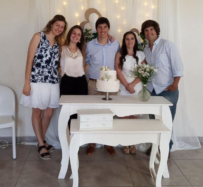 Ya nos casamos pasaron 24 días!! 16