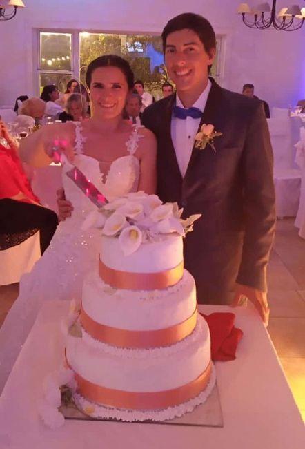 Ya nos casamos pasaron 24 días!! 17