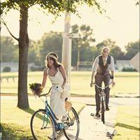 Entrada en bicicleta