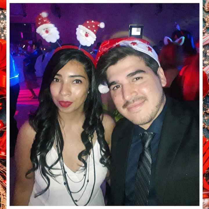 ¿Tendrías algunas de estas fotos pre-boda navideña en tu álbum nupcial? - 1