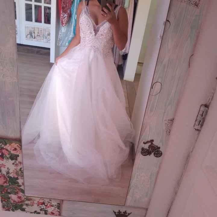 Hoy fui a mi primer cita de vestidos - 2