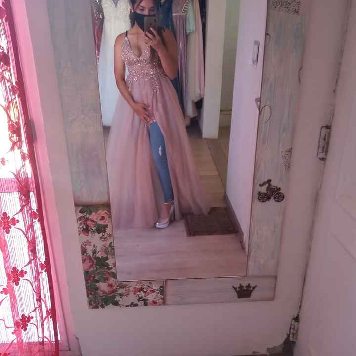 Hoy fui a mi primer cita de vestidos - 3
