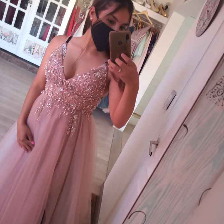 Hoy fui a mi primer cita de vestidos - 4