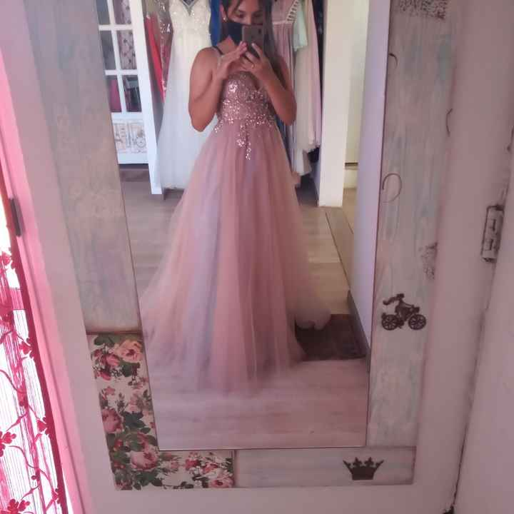Hoy fui a mi primer cita de vestidos - 5