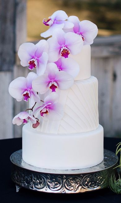 Vota Tu Torta De Casamiento Con Flores Favorita