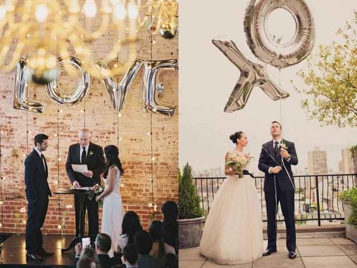 7-Decoración con globos para casamientos