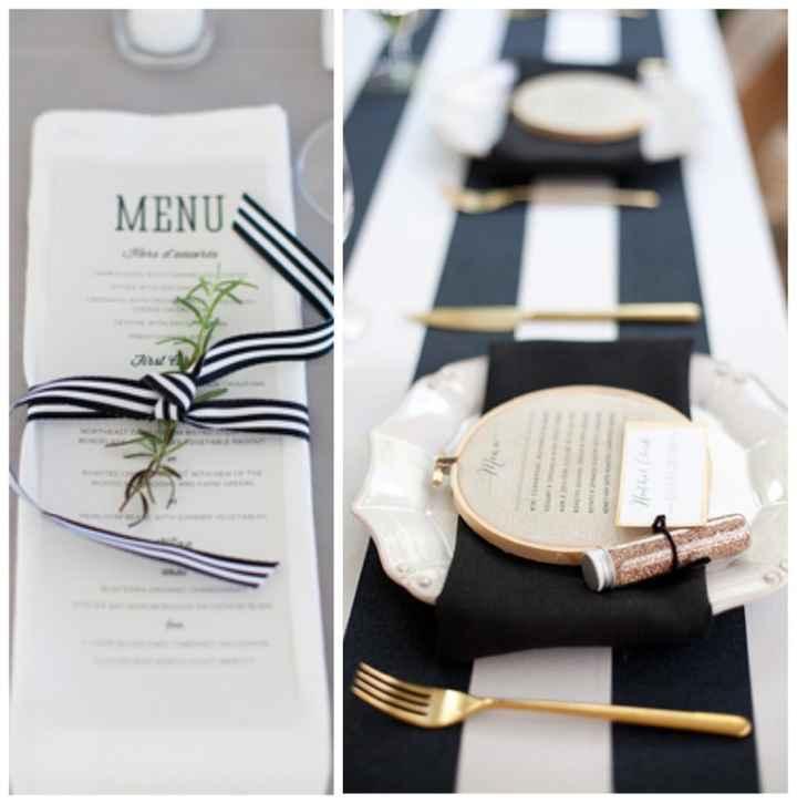 7-Decoración a rayas para casamientos