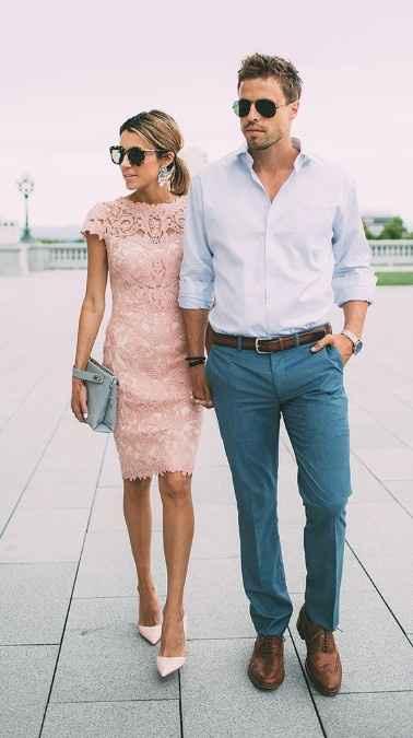 2-Dress Code elegante sport para casamiento