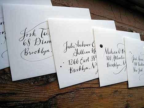 sobres personalizados para invitaciones