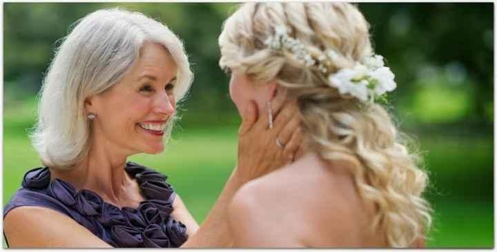 4-Fotos de madre e hija en día del casamiento