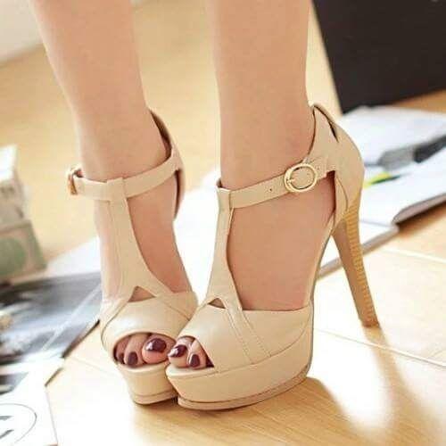 Zapatos nude en tu look de novia - 1