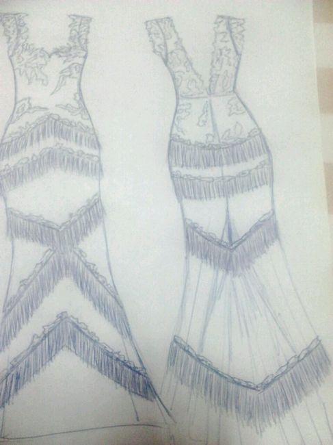 Diseño del vestido - 1