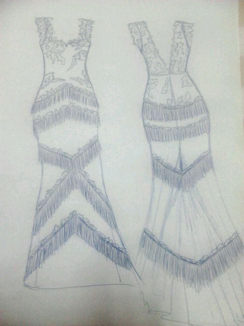 Diseño del vestido - 2
