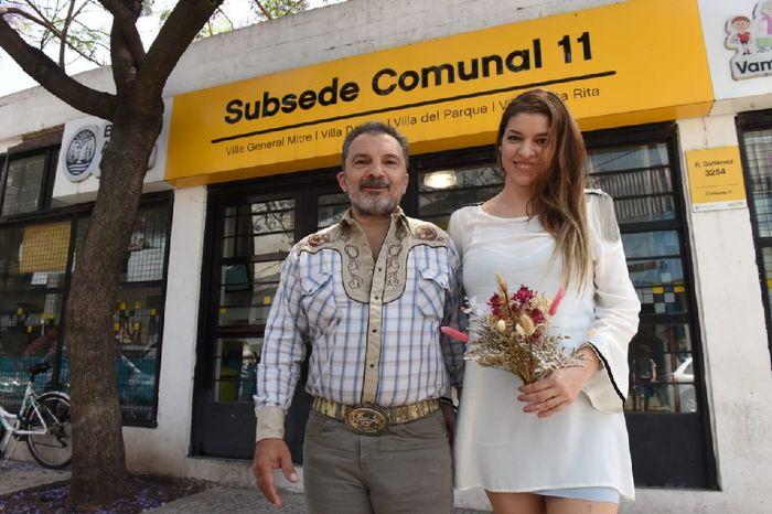 Nos casamos!!!👰🤵🥂🍾 12