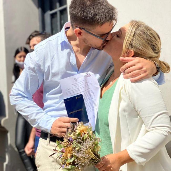 Nos casamos en pandemia!!! 2