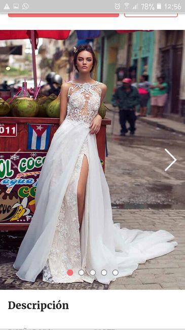 Indecisa con la elección del vestido 1