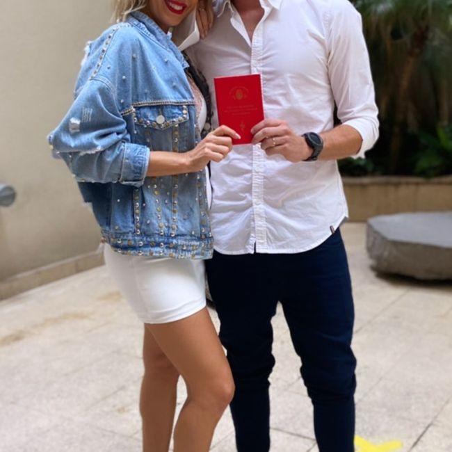Se casó Noelia Marzol con Ramiro Arias 1