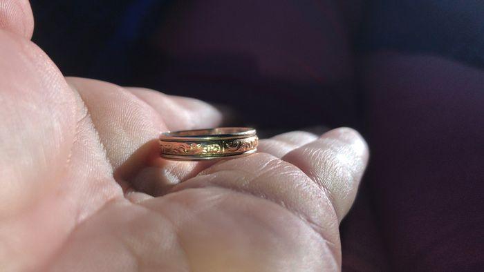 Nuestros anillos 😍😍 1