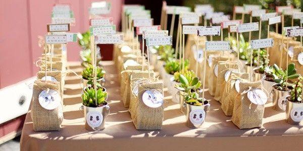 Inspiraciones para una boda rural for Mesas de boda originales