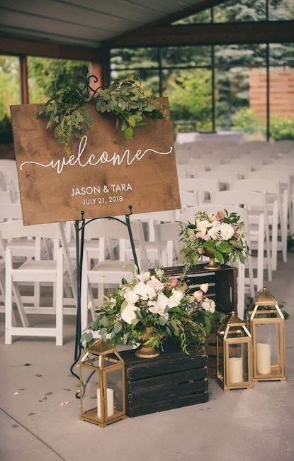 Recepción de bodas... Diferentes estilos de deco para elegir 8