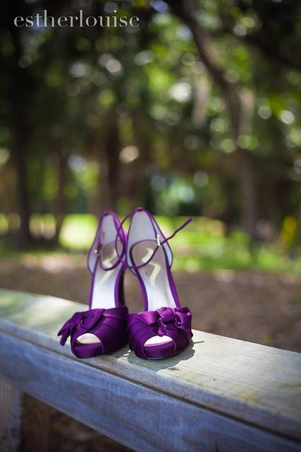 ¿Te animás a usar este color en tu boda?💜 1