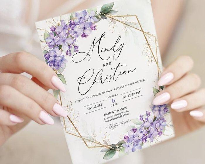 ¿Te animás a usar este color en tu boda?💜 6