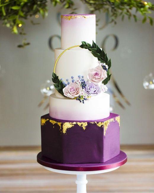 ¿Te animás a usar este color en tu boda?💜 8