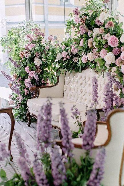 ¿Te animás a usar este color en tu boda?💜 10