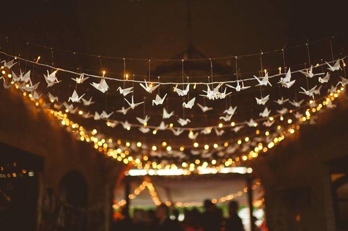 Ceremonia bosque de grullas - Lucecitas de navidad ...